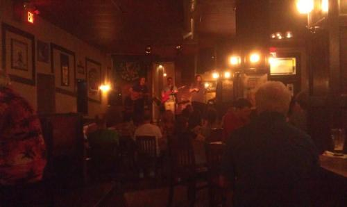 Music at the Celtic Corner, Dartmouth
