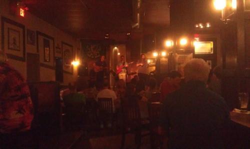 Music at the Celtic Corner, Dartmouth