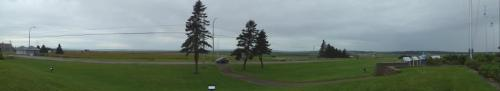 The view from Visitor's Center at the Nova Scotia/New Brunswick border.