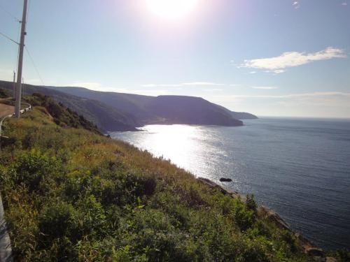 The western highlands coastline.