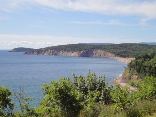 More Cabot Trail coastline.