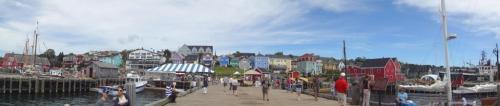 Lunenburg from the pier